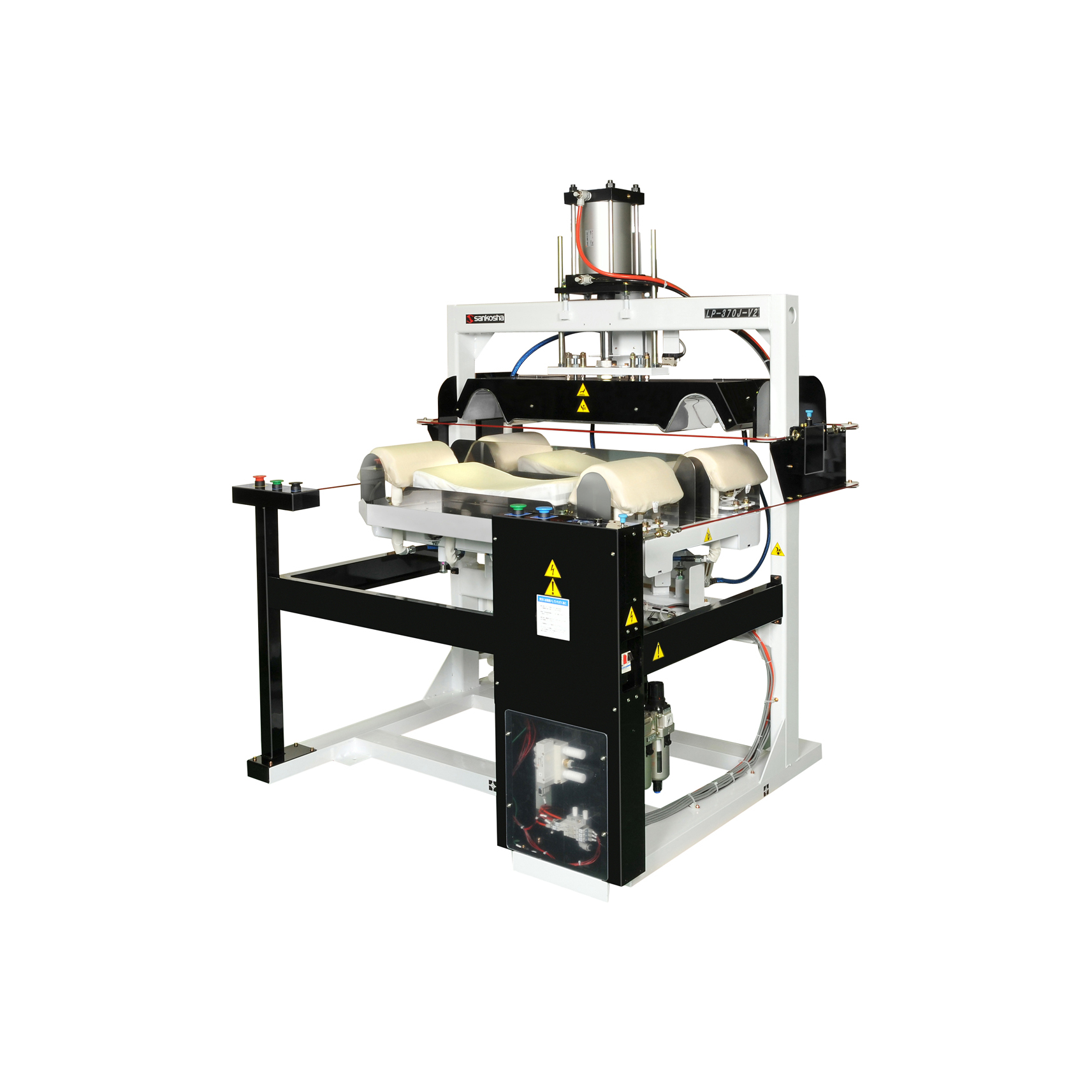Sankosha LP-370J-V2 Quadruple Collar-Cuff Press