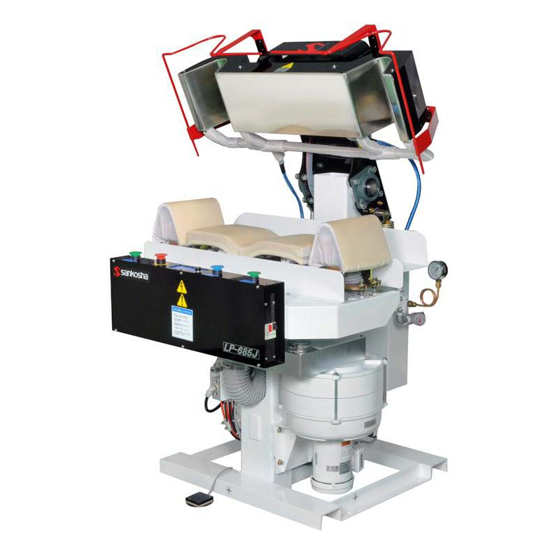 Sankosha LP-685U  Double Collar-Cuff Press